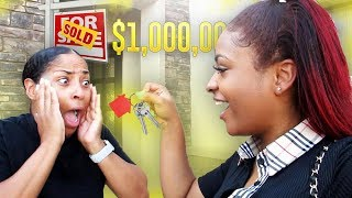 I BOUGHT MY MOM A $1,000,000 HOUSE!!! *EMOTIONAL*