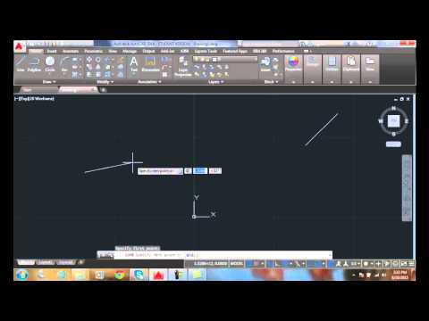 AutoCAD I  03-13 Specifying the First Point
