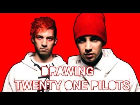 Drawing Twenty One Pilots - YouTube