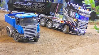AWESOME RC Trucks! Cool RC action! Fantastic scenes Friedrichshafen 2018