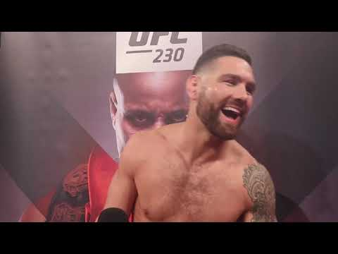 """MSG, Weidman vs. Bob Sapp. That thing would sell"" -- Chris Weidman Jokes at UFC 230 Open Workouts"