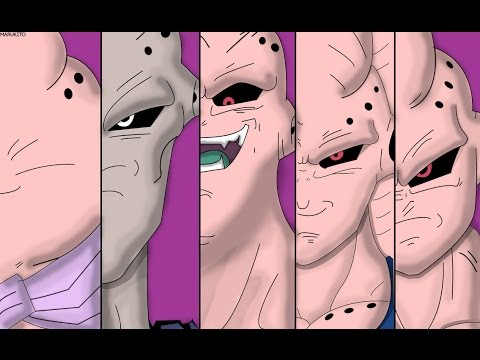 Majin Buu All Forms And Transformations