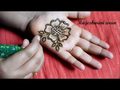 beautiful simple mehndi designs for hands    easy mehndi designs step by step for ugadi