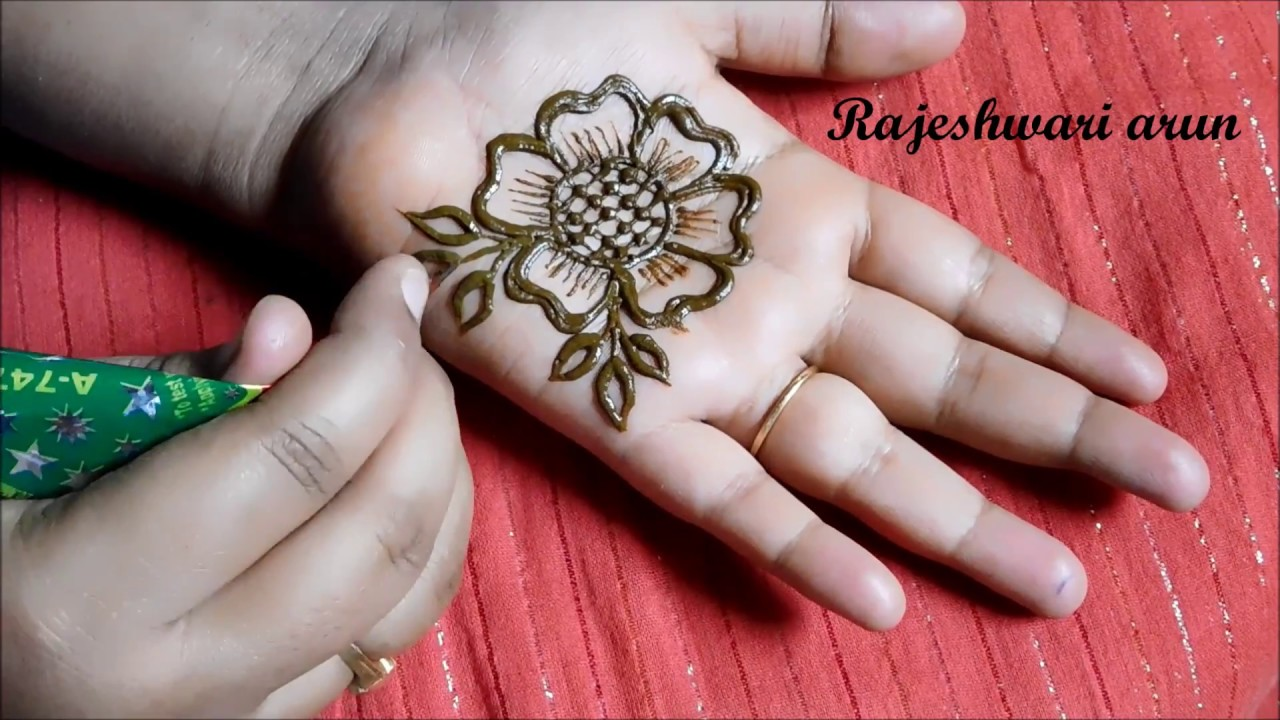 Simple mehandi designs images for Simple and beautiful