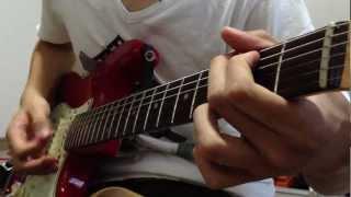 使用機材は ギター:SCOOP CREATION WORKS ST-62 アンプ:Marshall LEAD...