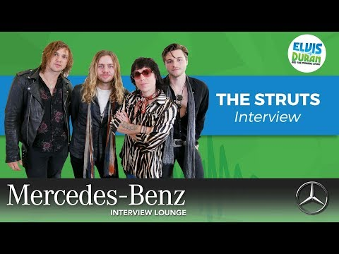 The Struts on Collab with Kesha and Life on a Tour Bus | Elvis Duran Show