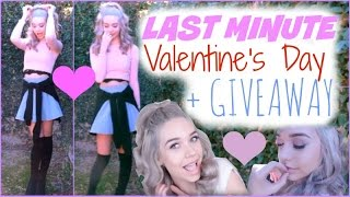 Last Minute Valentine's Day Look! (+ GIVEAWAY) ♡