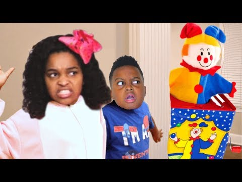 Thumbnail: What's In The Box SCARY TOY! - Shiloh And Shasha - Onyx Kids