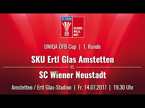 14.07.2017 / 19:30 Uhr SKU Ertl Glas Amstetten (AMS) vs. SC Wiener Neustadt (WRN)