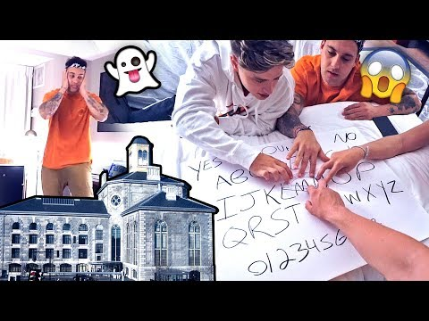 INSANE OUIJA BOARD INSIDE HAUNTED PRISON.. (you won't believe what happened)