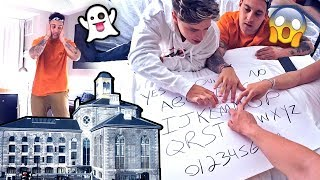INSANE OUIJA BOARD INSIDE HAUNTED PRISON.. (you won't believe what happened)