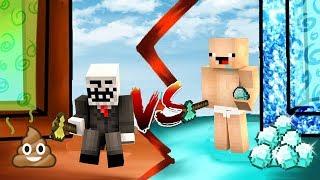 Noob Vs Pro 💩😂🔹 Kaka Portali Vs Elmas Portali - Minecraft