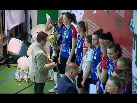 Krośnieńskie siatkarki w Opolu wywalczyły srebrny medal