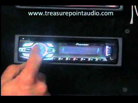 Pioneer DEH6400BT CD Player Connect Bluetooth, Set Clock Bass