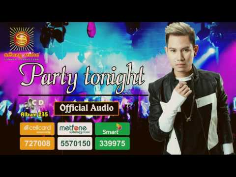 [Official Full Audio] Party tonight by Mr. White   Sunday CD Vol 235