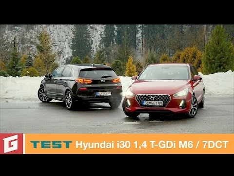 Hyundai i30 1,4 T GDi manual automat TEST GARAZ.TV