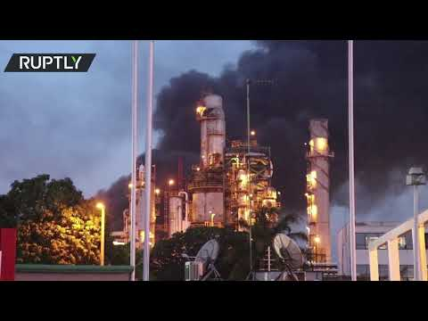 Explosion at Veracruz oil refinery in Mexico leaves several injured