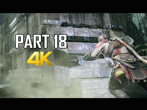 GOD OF WAR Gameplay Walkthrough Part 18 - Mountain Pass (PS4 PRO 4K Commentary 2018)