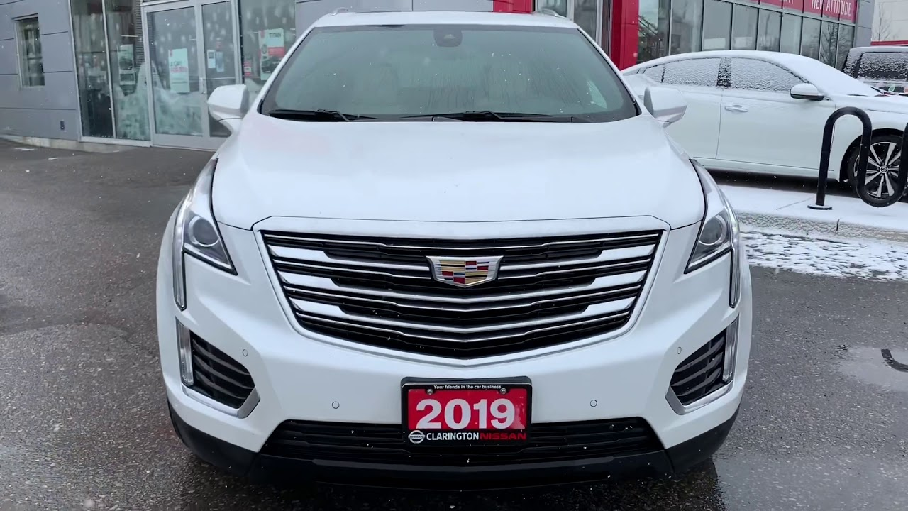2019 Cadillac XT5 tour at Clarington Nissan - YouTube