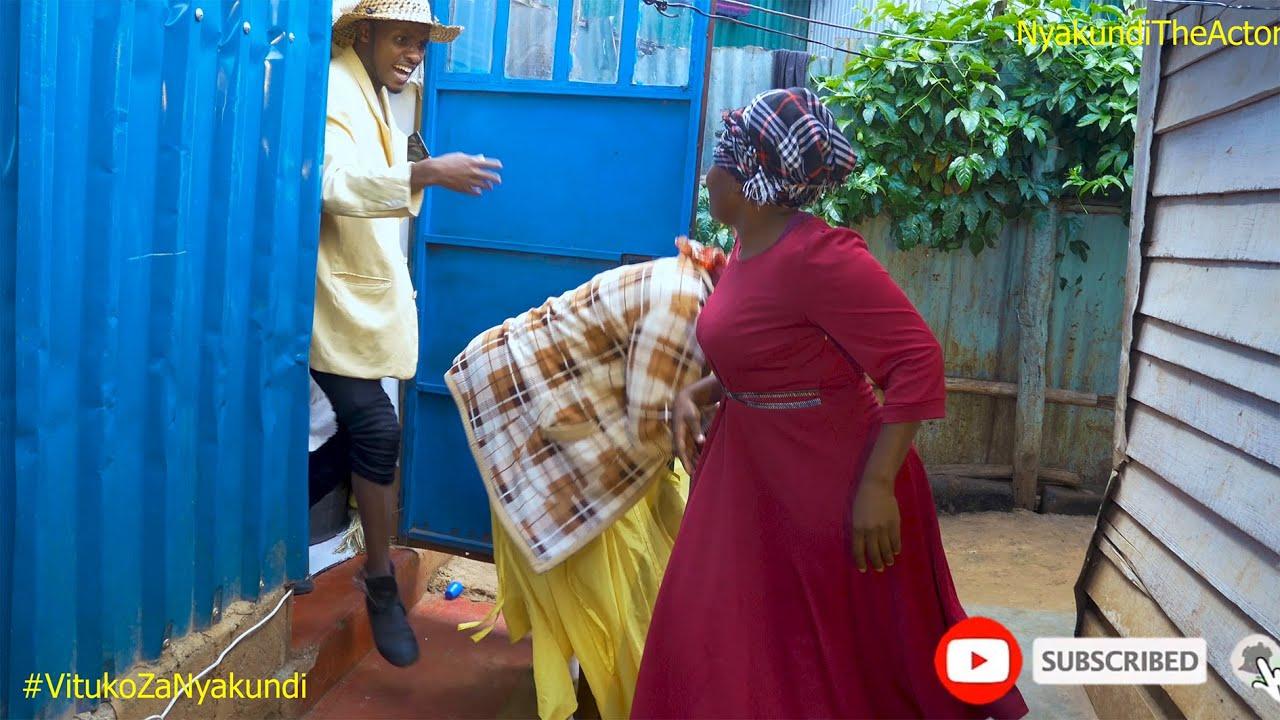 Vituko Za Nyakundi - MARRIAGE PROBLEMS ft  Yunuke & Nyabotobe wa Okiondo Show - NYAKUNDI THE ACTOR