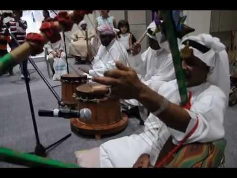 Afro-Arabic music from Sharjah at the Abu Dhabi Book Fair 2013.