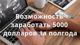 как заработать деньги 5000 долларов без вложений 500 рублей в день