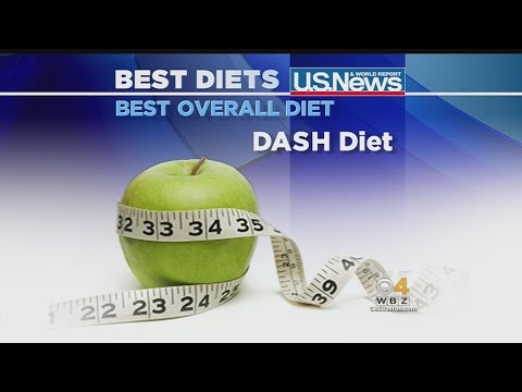 DASH Diet Named Best For Sixth Year In A Row