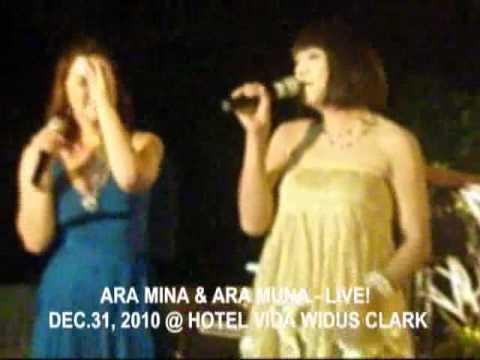 ARA MINA & ARA MUNA - LIVE! DEC.31,2010 NEW YEAR'S COUNTDOWN SHOW
