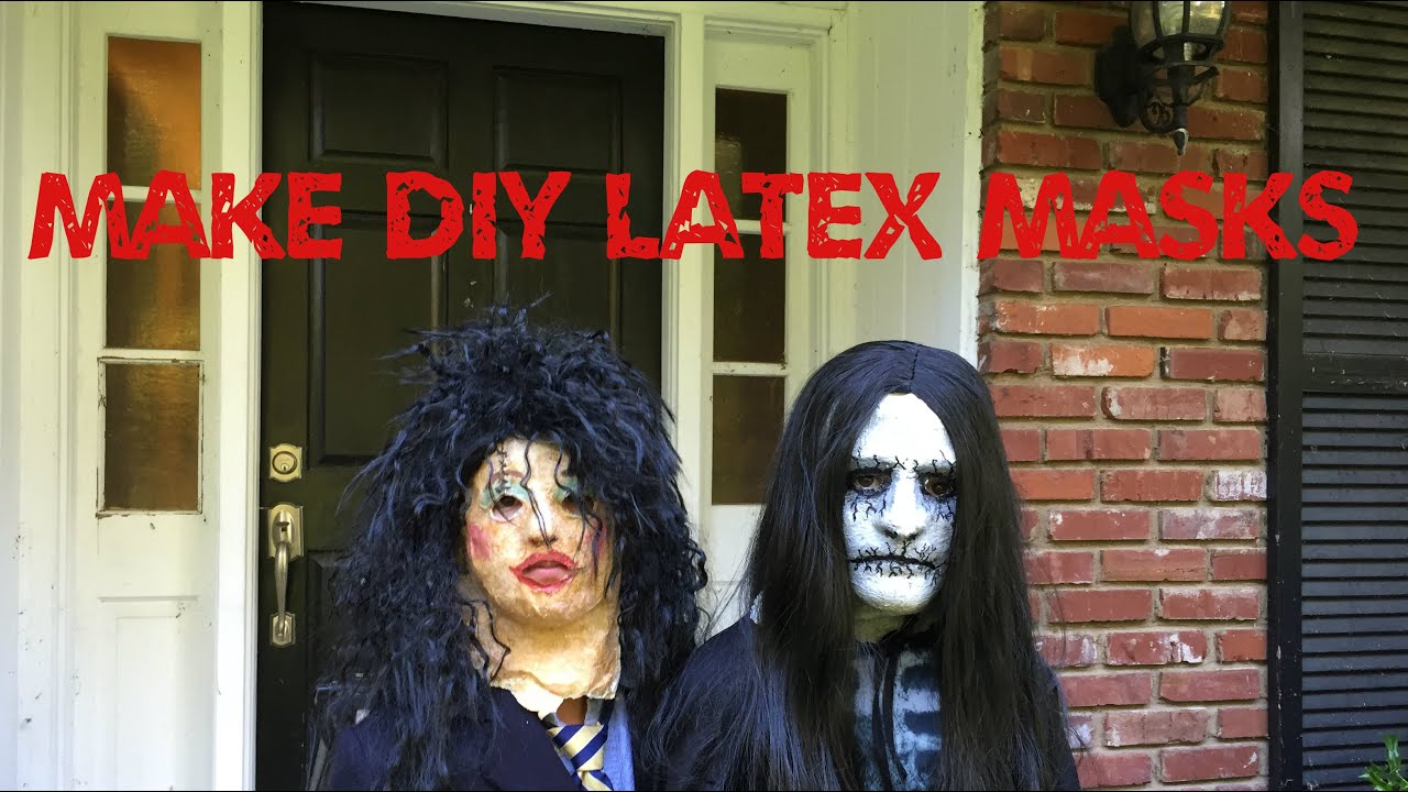 Latex mask tutorial album on imgur.