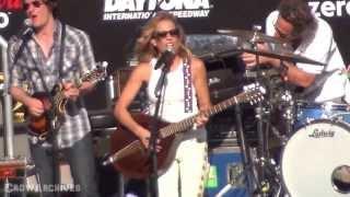 "Sheryl Crow - ""Shotgun"" & ""Real Gone"" @ Daytona International Speedway NASCAR"