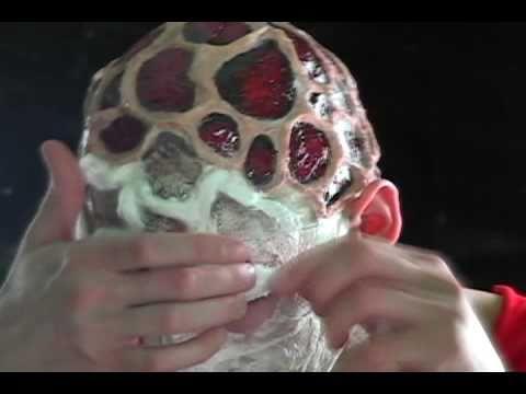 FX Makeup Tutorial 01 - Freddy Krueger\'s Burns [01.01.11] - YouTube