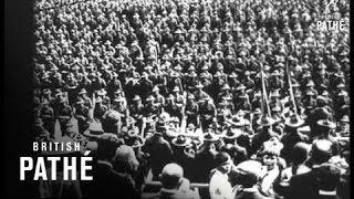 Us Mobilisation Montage (1916-1918)