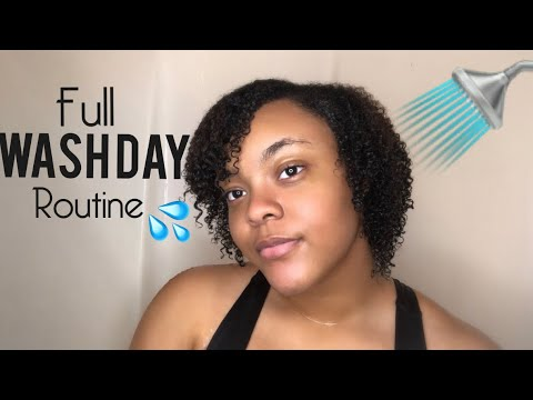 My Full Wash Day Routine | Natural Hair