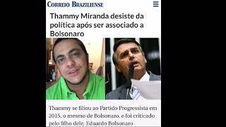 Eduardo Bolsonaro apóia Thammy Miranda contra intolerância do ativismo LGBT