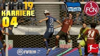 FIFA 19 KARRIERE [#04] ⚽ Hertha BSC vs. 1.FC Nürnberg, 1. Spieltag   Let