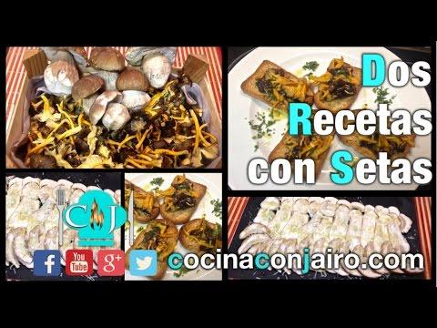 Como Cocinar Setas   Recetas De Cocina