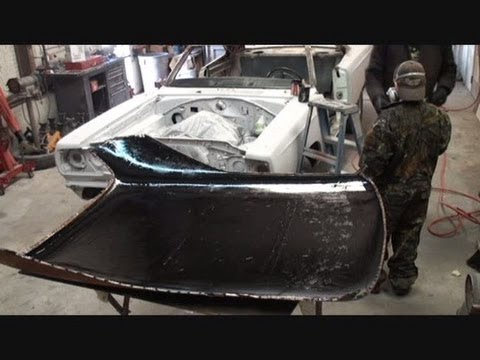 Rust Repair Made Easy Car Roof Replacement Part 10 Using