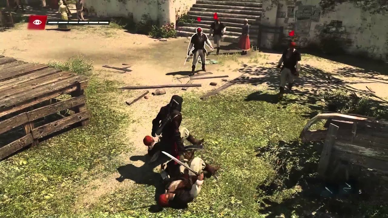 Assassin S Creed Freedom Cry Gameplay Walkthrough Trailer Anz