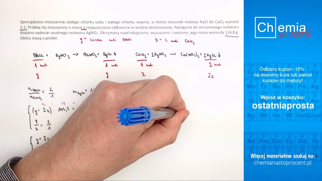 Live #3: Ćwiczymy zadania do matury z chemii :)