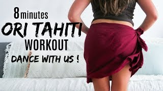 TAHITIAN DANCE WORKOUT & INTRO - with my sis !» ATFAC DAY 22