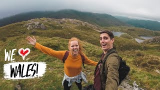 Climbing The HIGHEST PEAK IN WALES! (Snowdonia, Wales)