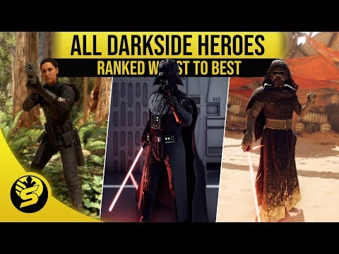 All Villains Ranked from worst to best! - STAR WARS Battlefront 2 thumbnail
