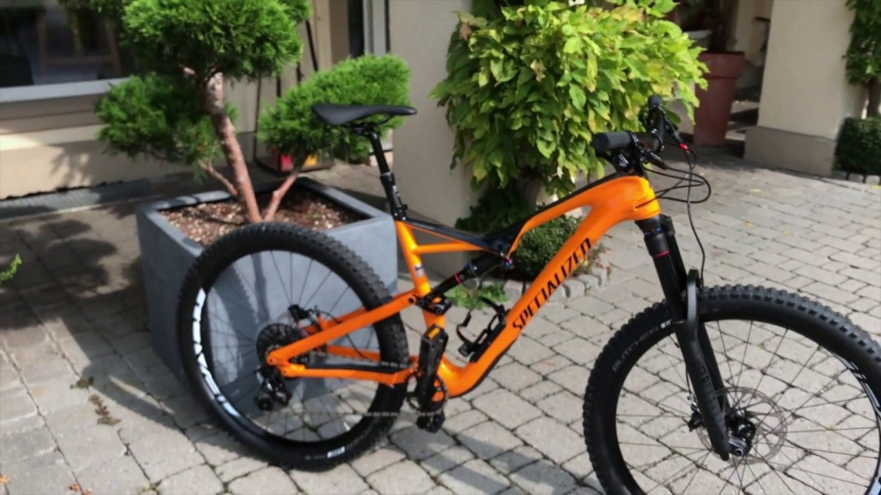 Specialized Stumpjumper FSR Comp Carbon 2018 Galardo Orange