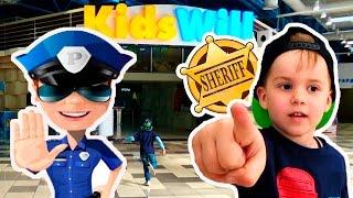 Видео для детей Детский Город профессий Полиция в погоне за преступником Игры для мальчиков for kids