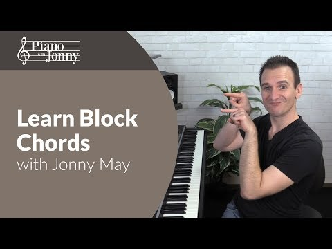 Learn Block Chords with Somewhere Over the Rainbow - Mini Lesson by Jonny May