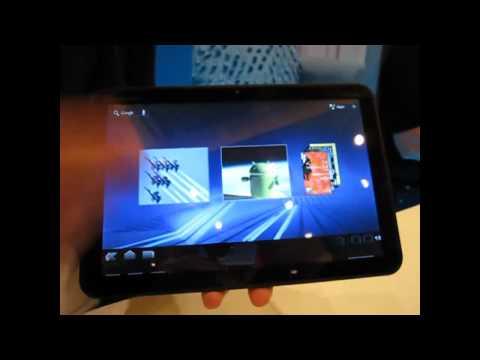 CES 2011: Motorola Xoom tablet (hands-on)