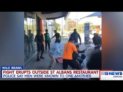 Africans Attack Vietnamese Food Patrons.(St Albans) Seven + Nine News