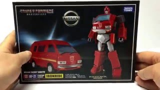 MP-27 Masterpiece Ironhide Review and Transformation