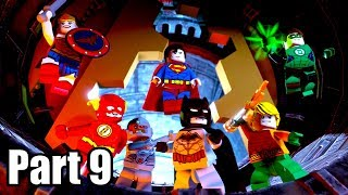 LEGO DC SUPER-VILLAINS [PS4 PRO] Gameplay Walkthrough Part 9 | No Commentary