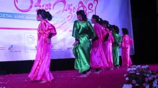 CETA UAE 2016 Oru vattom koodi  Auh kids dance  foreign music in Indian cinema part3 Arabic